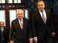 Тиллерсон отказался от предложения Лаврова совместно инициировать международное расследование химической атаки в Сирии