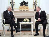 """Путин обсудил с президентом Италии """"сложный период"""" в двусторонних отношениях"""