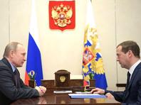 Медведев перед выступлением в Госдуме приехал к Путину на инструктаж