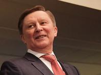Отвечая на вопрос о протестах, экс-глава администрации президента Иванов перекрестился