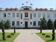 В кубанском Белореченске здание администрации украсили портретом Сталина