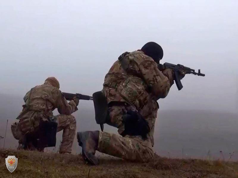 """Двое бандитов, связанных с """"Исламским государством""""*, уничтожены в Ставропольском крае, сообщили в Национальном антитеррористическом комитете (НАК) в субботу."""