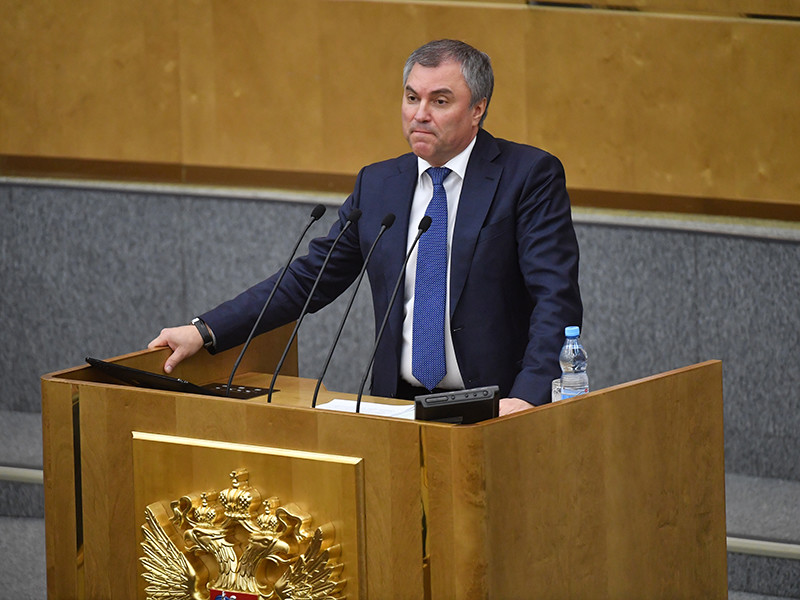 Спикер Госдумы Вячеслав Володин внес законопроект о лишении гражданства за терроризм, документ опубликован на официальном сайте нижней палаты парламента