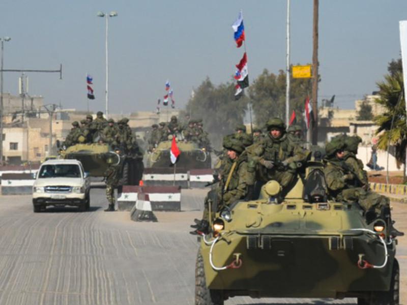 Новый батальон военной полиции отправлен из Чечни в Сирию