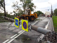 В результате урагана в Москве пострадали 168 человек, 146 были госпитализированы