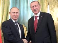 Эрдоган на встрече с Путиным заявил о способности Москвы и Анкары вместе повлиять на ситуацию на Ближнем Востоке