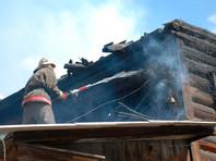 В деревне в Красноярском крае сгорели восемь домов. Пожар локализован