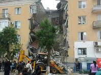 В Волгограде от взрыва газа полностью обрушился подъезд в многоэтажке