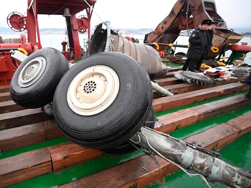 По данным ФСБ России, основные версии крушения Ту-154 - попадание в двигатель посторонних предметов, некачественное топливо, ошибка пилотирования и техническая неисправность. Признаков и фактов, указывающих на возможность совершения теракта на борту самолета в настоящее время не получено