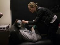 Навальный получил химический ожог средней степени правого глаза