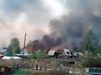В Иркутской области сгорели сотни домов и дач, не обошлось без жертв (ВИДЕО)