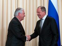 МИД сообщил о встрече Лаврова и Тиллерсона 10 мая в Вашингтоне