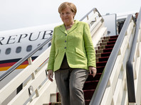 """По данным агентств, Меркель в Сочи, направляясь на встречу с Путиным, назвала Россию важным партнером по """"двадцатке"""""""
