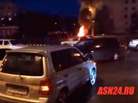 Тындинцы устроили акцию протеста с поджогом покрышек после смерти мотоциклиста в ходе преследования его полицией (ВИДЕО)