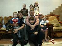 Рамзан Кадыров с детьми, 2008 год