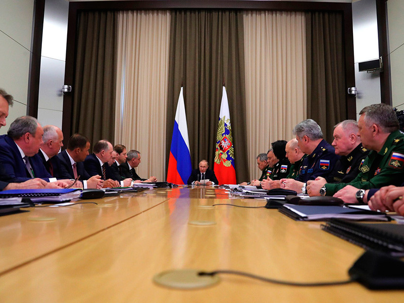 Путин объявил об успешном импортозамещении военной продукции