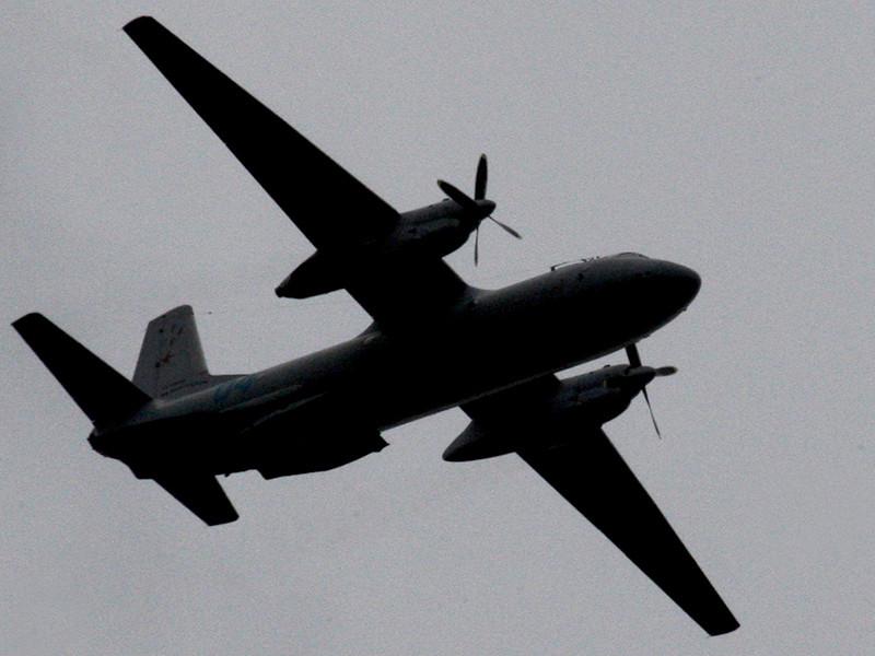 В Саратовской области упал военный самолет Ан-26, один человек погиб