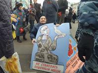 В Петербурге 9 мая сторонники Путина ополчились на 71-летнюю художницу, выступившую против войны на Украине и в Сирии