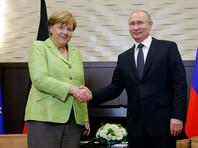 Меркель обсудила с Путиным Украину, Сирию и акции протеста в РФ, а также спросила про Чечню