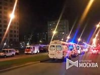 Жилая высотка горела на юго-западе Москвы: более 30 пострадавших