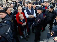 Навальный объяснил, почему ОМОН вывел его с митинга против реновации