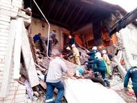 После взрыва газа в доме под Калининградом из-под завалов достали ребенка