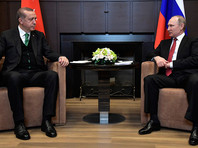 В Сочи 3 мая прошла встреча президента РФ Владимира Путина с турецким коллегой Реджепом Тайипом Эрдоганом, которая продолжалась более трех часов