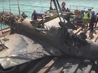 Строители моста в Крым подняли со дна американский истребитель времен ВОВ