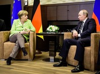 Переговоры президента РФ Владимира Путина и канцлера ФРГ Ангелы Меркель в Сочи, на которых речь шла о международных вопросах и о внутрироссийских темах, прошли конструктивно и обошлись без упреков