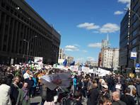 На акции против реновации в Москве начались задержания