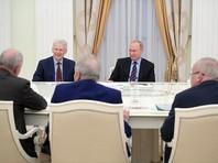 Путин на закрытой встрече обсудил с академиками выборы нового президента РАН