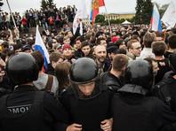 В Росгвардии рассказали об ударе бойца ножом в спину на митинге против коррупции в Петербурге 12 июня