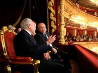 Путин посетил Большой театр, но узнали президента не сразу