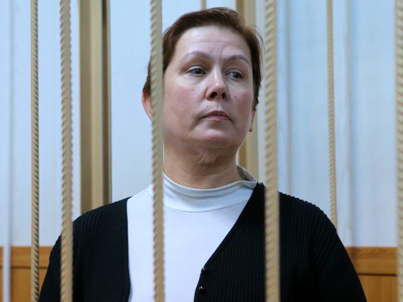Наталья Шарина в Таганском суде города Москвы, октябрь 2015 года