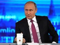 Прямая линия началась со вступительного слова ведущих. Дмитрий Борисов сообщил главе государства, что принято уже два миллиона обращений - о росте цен, ЖКХ, падения доходов и в целом экономического кризиса. Ремезова отметила, что много вопросов поступило про будущее, которое ждет Россию
