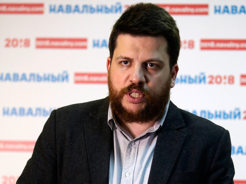 Начальник предвыборного штаба Алексея Навального Леонид Волков
