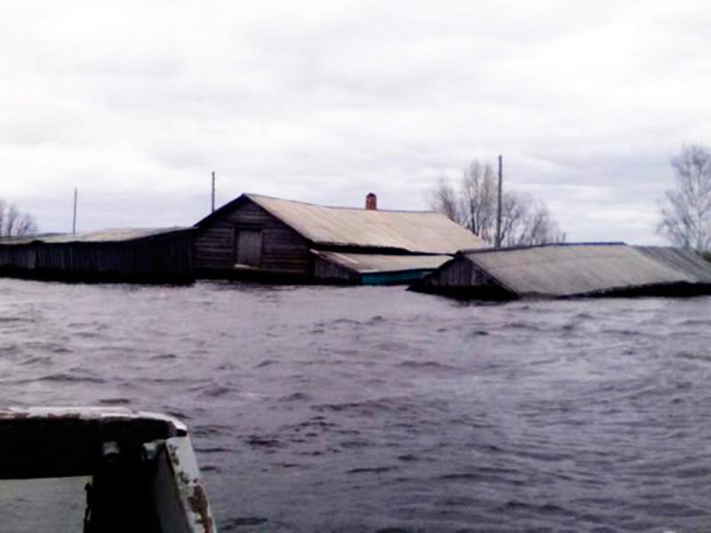 На севере Коми из-за половодья введен режим ЧС