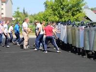 МВД и Росгвардия отработали подавление беспорядков среди футбольных фанатов