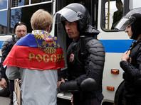 В ГУВД отметили, что оппозиционер разместил в интернете призывы к гражданам переместиться с проспекта Сахарова, где было запланировано согласованное с мэрией мероприятие, на Тверскую для участия в несогласованной протестной акции