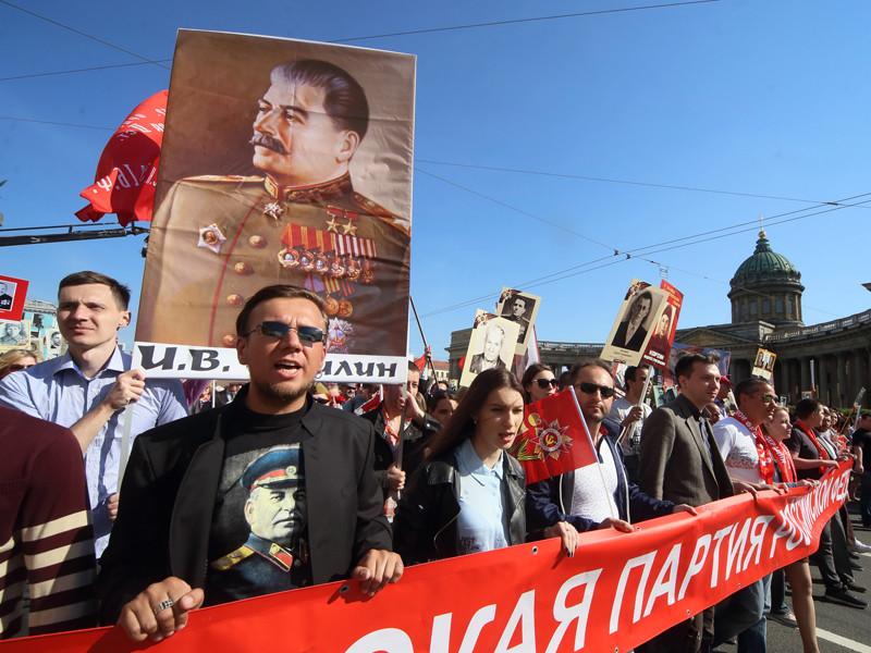 Число россиян, связывающих высокие потери в Великой Отечественной войне с жестокостью Сталина, упало до 12%