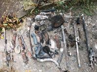 """В сгоревшем доме """"кратовского стрелка"""" обнаружили арсенал и две предсмертные записки, а останки его матери найти не удалось"""