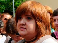 """Виолетта Волкова объяснила свое появление на Сахарова """"шальной мыслью"""""""