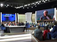 Вопросы Путину на экране во время прямой линии не были неудобными для Кремля - их там согласовали