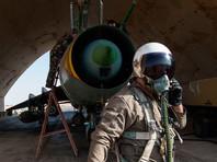 """В свою очередь в представители коалиции заявили, что сирийский Су-22 был сбит за то, что сбрасывал бомбы рядом с позициями бойцов """"Сил демократической Сирии"""" к югу от города Табка (40 километров от Ракки)"""