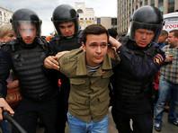 """Сопредседатель движения """"Солидарность"""" был признан виновным по статье 19.3 КоАП РФ (""""Неповиновение законному распоряжению сотрудника полиции"""")"""