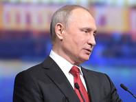 Участникам прямой линии с Путиным посоветовали ограничить потребление спиртного