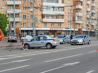 В Москве полицейская погоня обернулась массовым ДТП: шесть человек пострадали