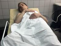 Александр Туровский во время обысков находился в штабе. Позднее полицейские увезли его в ОВД, где продержали, по разным данным, от 10 до 12 часов. Волонтер рассказал, что при задержании его избили
