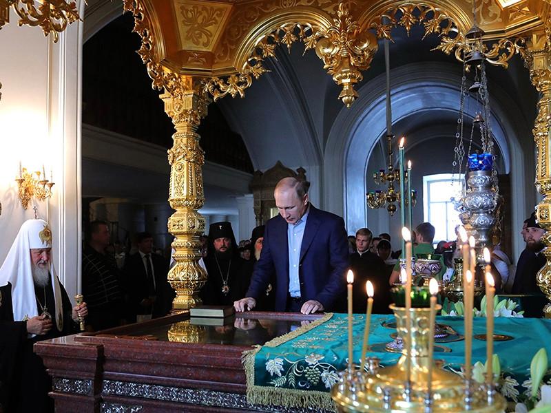 Президент Владимир Путин 11 июля посетил Спасо-Преображенский Валаамский ставропигиальный монастырь