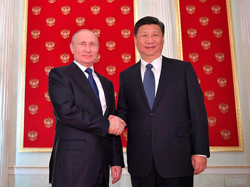 Владимир Путин принял вКремле Председателя КНР Си Цзиньпина